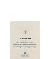 Dogeared - Wisdom Owl Reminder Necklace