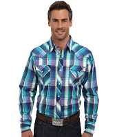 Roper - 9189 Blue Shade Plaid Shirt