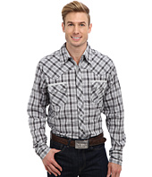 Roper - 9193 Charcoal & White Dobby Shirt
