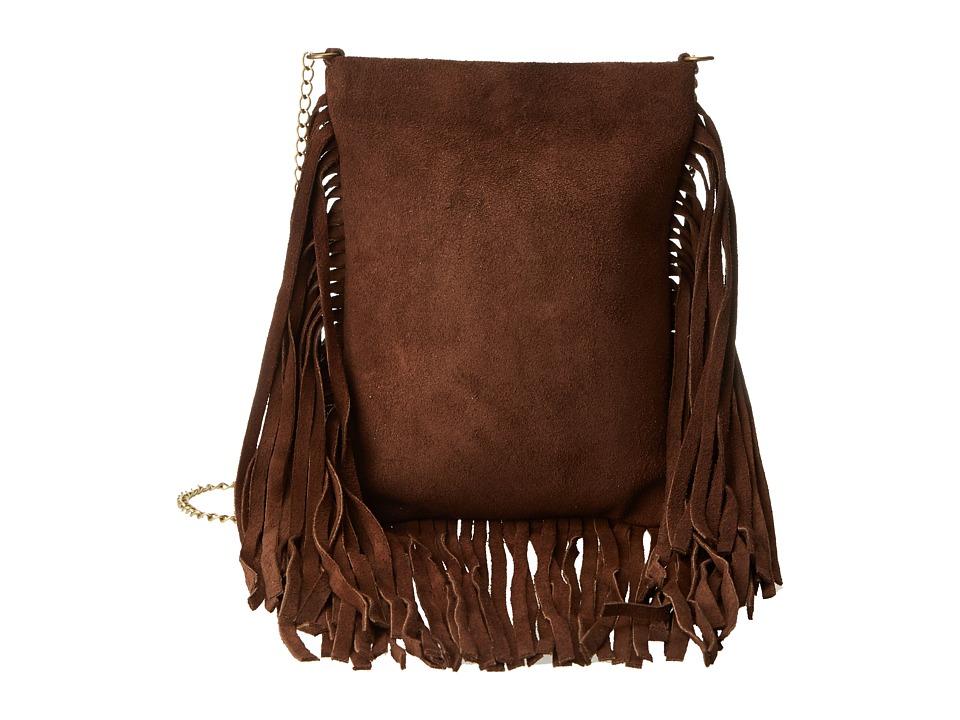 Leatherock - CP59 (Split Brown/Amber) Handbags