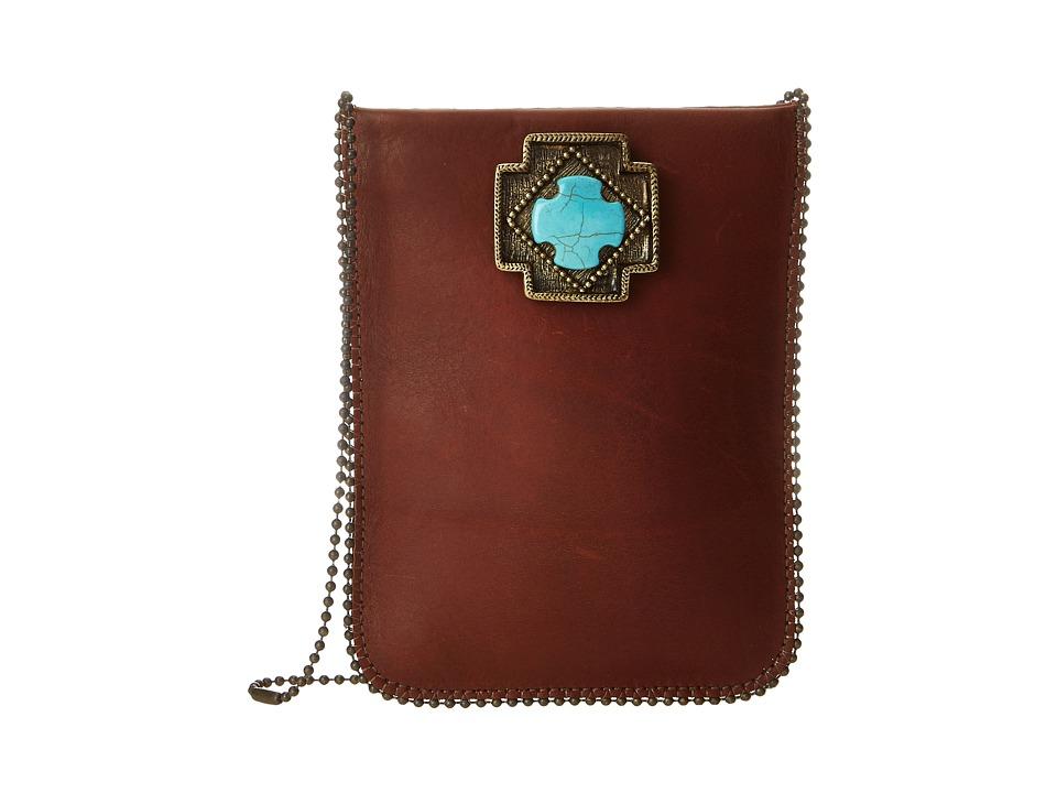 Leatherock - CP36 (Vintage Brown/Amber/Turquoise) Handbags