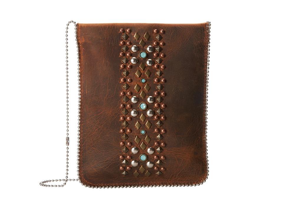 Leatherock - CP60 (Tobacco/Hematite/Amber) Cross Body Handbags