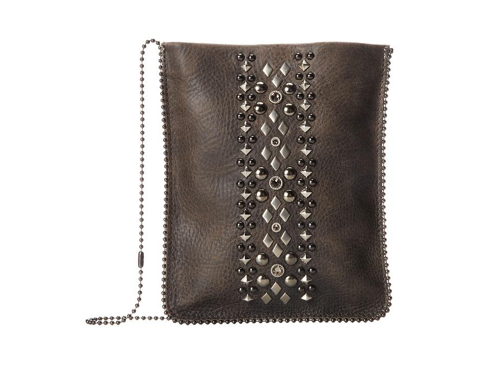 Leatherock - CP60 (Beast Grey/Hematite) Cross Body Handbags