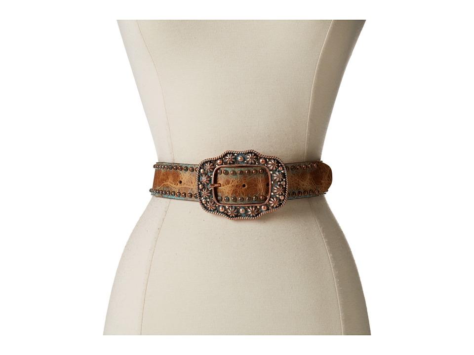 Leatherock 9963 Tan Womens Belts