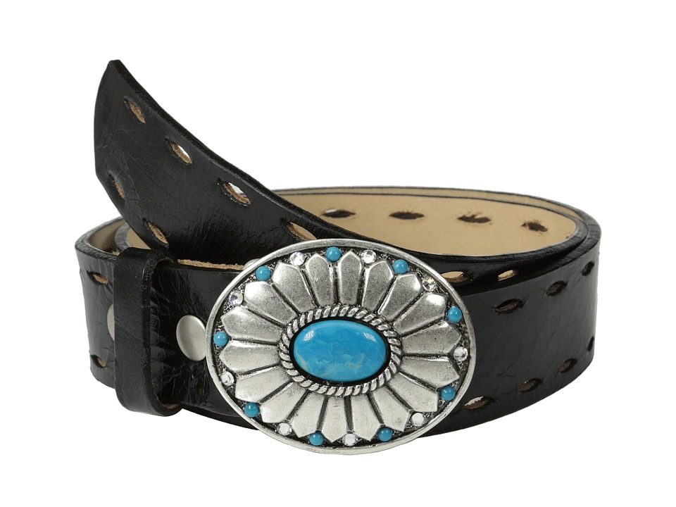 Leatherock 1141 Dakota Black Womens Belts