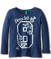 United Colors of Benetton Kids - T-Shirt L/S 3P7HC112Z (Toddler/Little Kids/Big Kids)