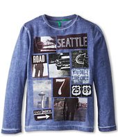 United Colors of Benetton Kids - T-Shirt L/S 3QT6C111R (Little Kids/Big Kids)