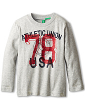 United Colors of Benetton Kids - T-Shirt L/S 3U1LC1134 (Toddler/Little Kids/Big Kids)