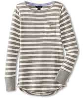 Tommy Hilfiger Kids - Yarn Dyed Pocket L/S (Big Kids)