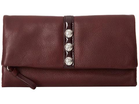 fc7267da4 Brighton Nolita Shimmer Large Wallet Chianti - Best Designer Clutches