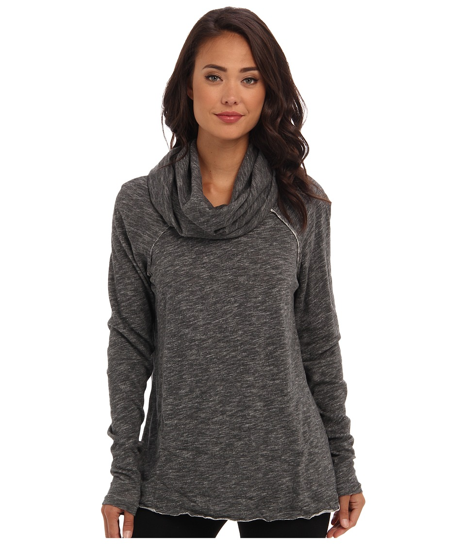 Free People Cocoon Cowl Pullover Charcoal Womens Long Sleeve Pullover