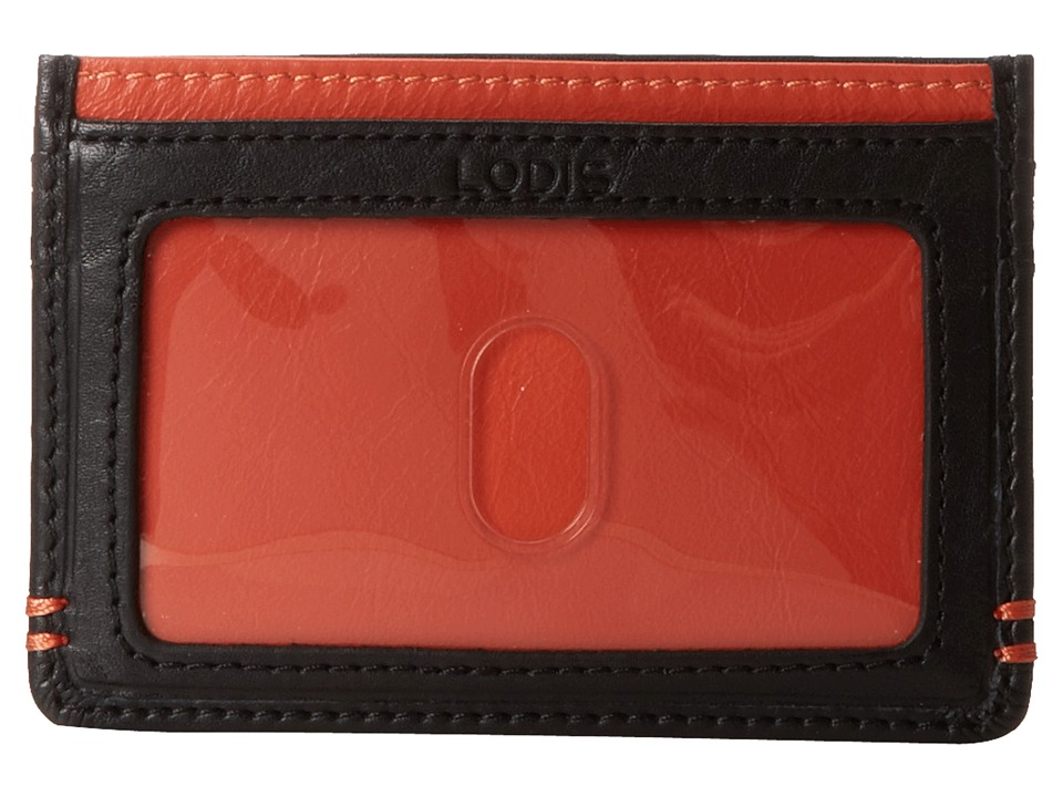 Lodis Accessories - Mini ID Case (Orange) Credit card Wallet