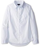 Tommy Hilfiger Kids - Classic School Boy L/S Button Up (Big Kids)