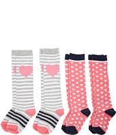 Stride Rite - Hearts 4-Pack Hearts Knee Hi (Infant/Toddler/Little Kid/Big Kid)