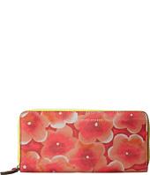 Marc by Marc Jacobs - Sophisticato Aki Floral Slim Zip Around