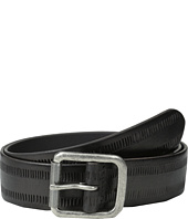 John Varvatos - 38mm Leather Belt w/ Harness Buckle