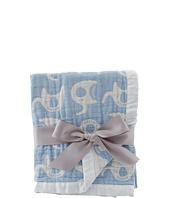 lolli LIVING - Living Textiles Muslin Jacquard Blanket