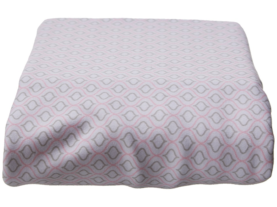 lolli LIVING Living Textiles Jersey Fitted Sheets Koko Rose Sheets Bedding