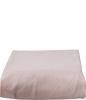 lolli LIVING - Pink Mini Cheveron Fitted Sheet