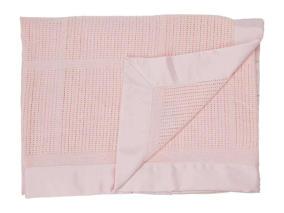 lolli LIVING Living Textiles Cellular Blanket Pink Sheets Bedding