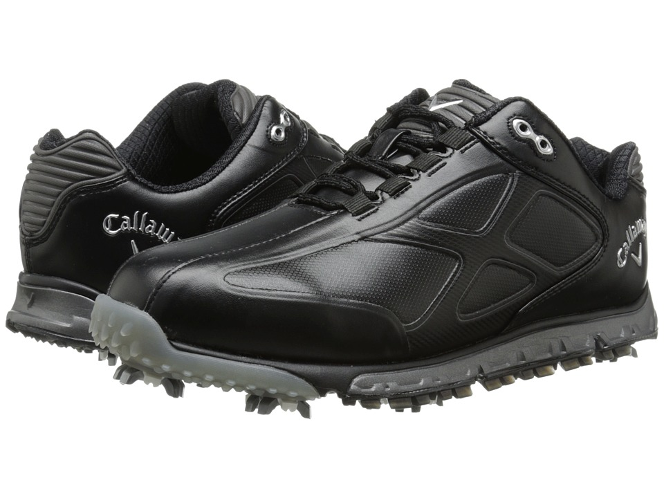 Callaway Xfer Pro Black/Black Mens Golf Shoes
