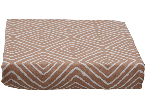 lolli LIVING Taupe Maze Fitted Sheet