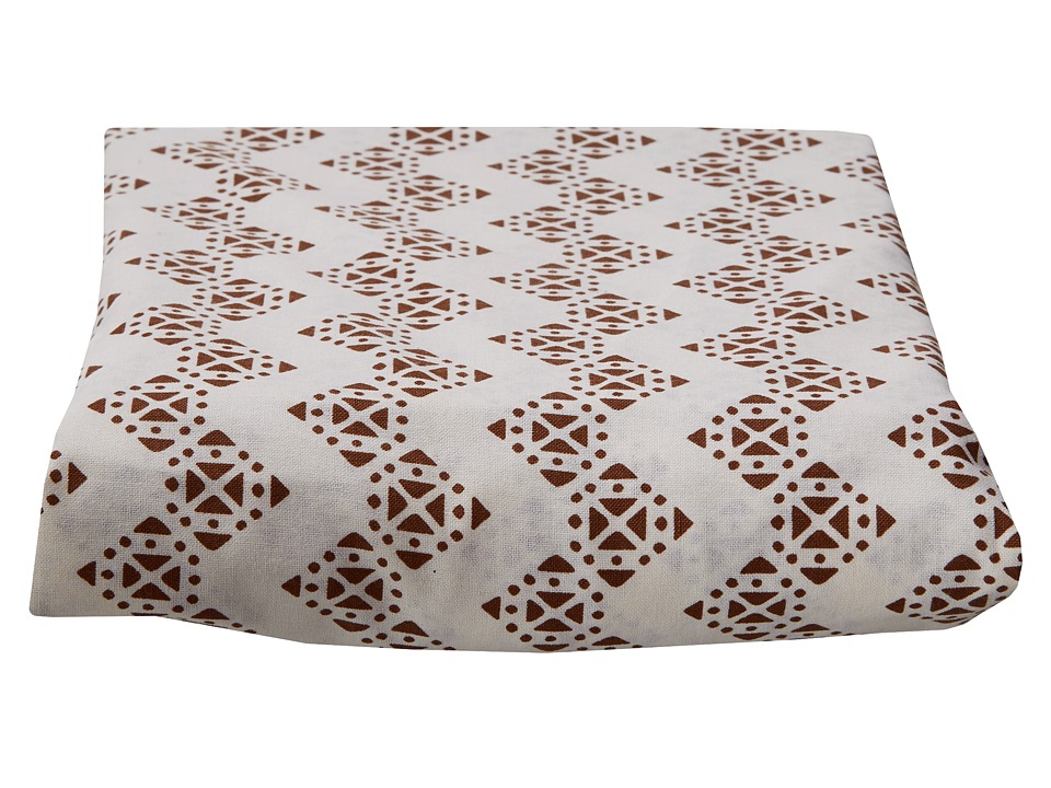 lolli LIVING - Stamped Zig Zag Fitted Sheet
