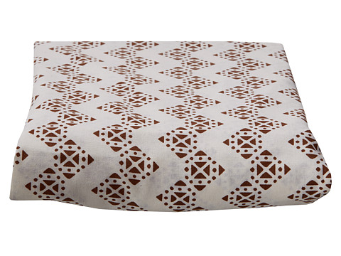 lolli LIVING Stamped Zig Zag Fitted Sheet