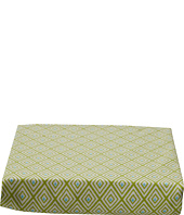 lolli LIVING - Green Diamond Fitted Sheet