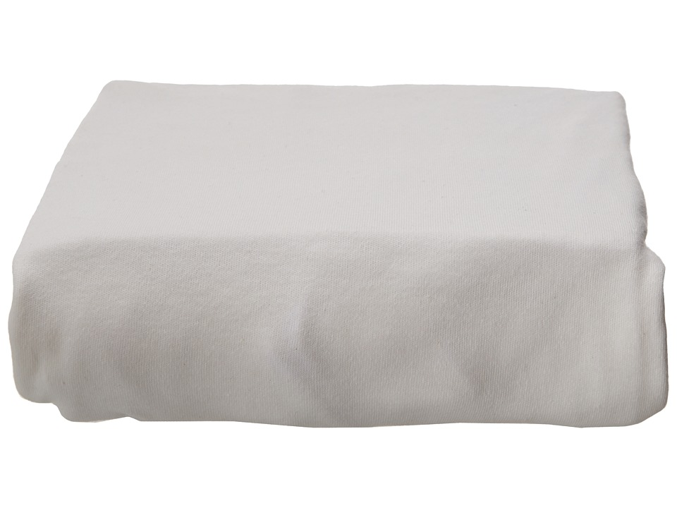 lolli LIVING Living Textiles Jersey Fitted Sheets White Sheets Bedding