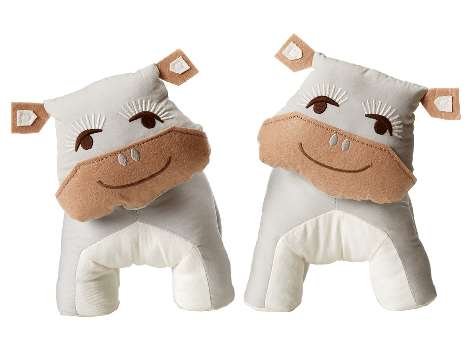 lolli LIVING Bookend Friends Hippo Multi Sheets Bedding