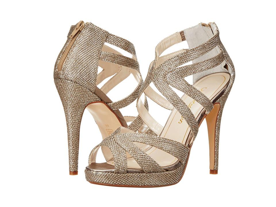 Caparros Priscilla (Champagne Sparkle) High Heels