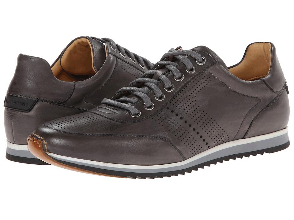 Magnanni - Pueblo (Grey) Mens Lace Up Wing Tip Shoes