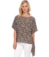 MICHAEL Michael Kors - Petite Savannah Zebra Tie Top