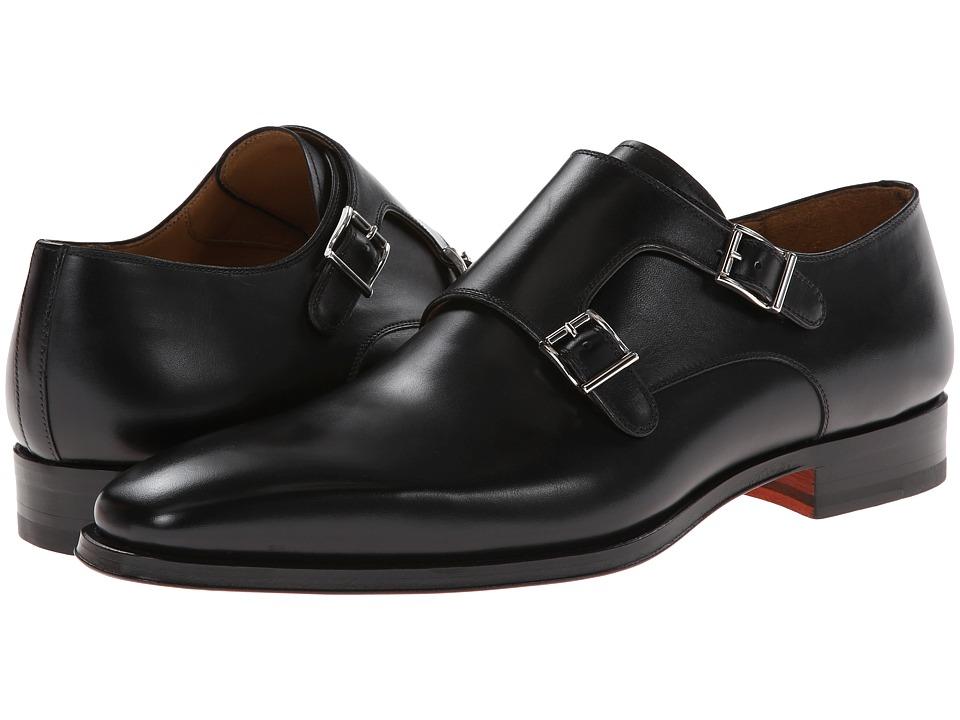Magnanni - Miro (Black) Mens Plain Toe Shoes