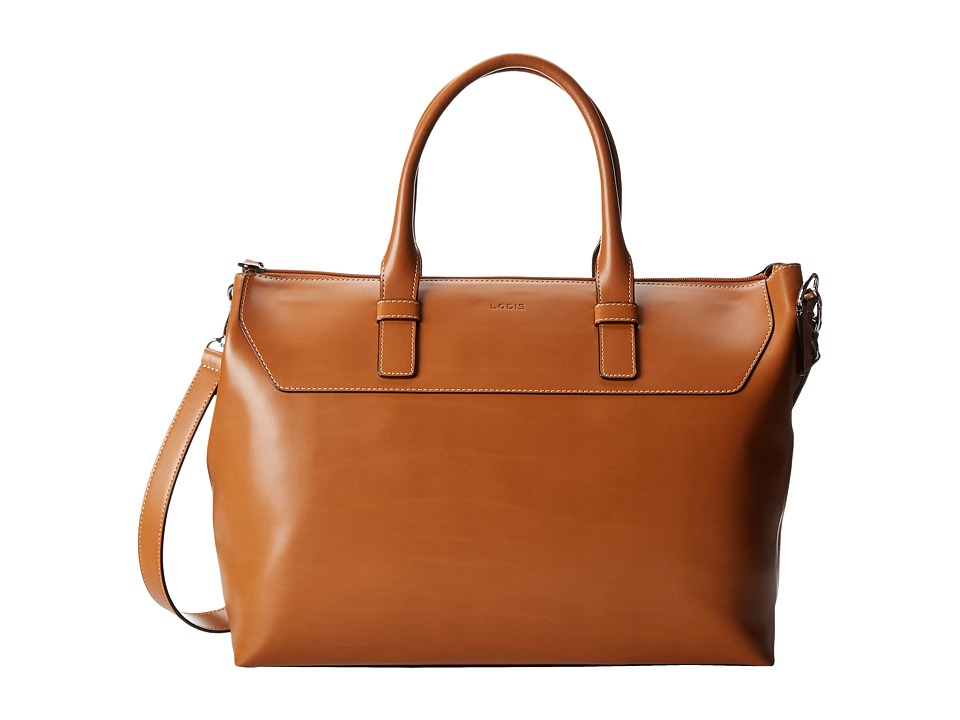 Lodis Accessories - Audrey Wilhelmina Work Satchel (Toffee/Chocolate) Satchel Handbags
