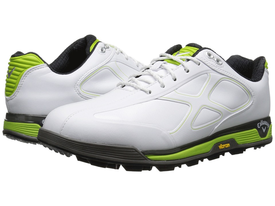Callaway - Xfer Vibe (White/Green) Men