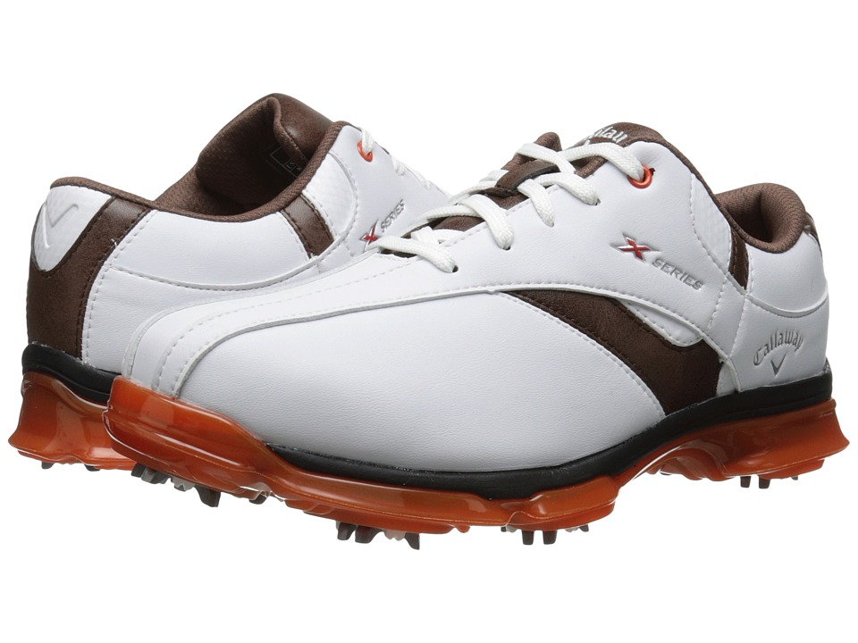 Callaway - X Nitro (White/Brown/Orange) Men