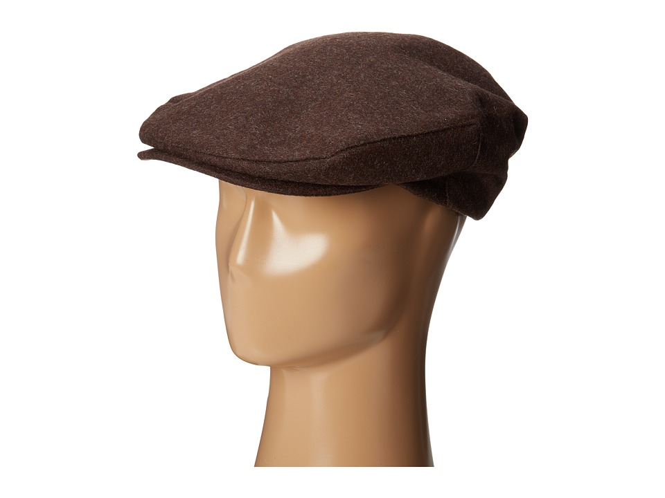 Brixton Barrel Snap Cap Dark Brown Caps
