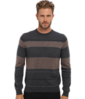 Culture Phit - 100% Merino Multi Stripe Crew Sweater