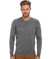 Culture Phit - 100% Merino Ribbed Yoked Crew Sweater