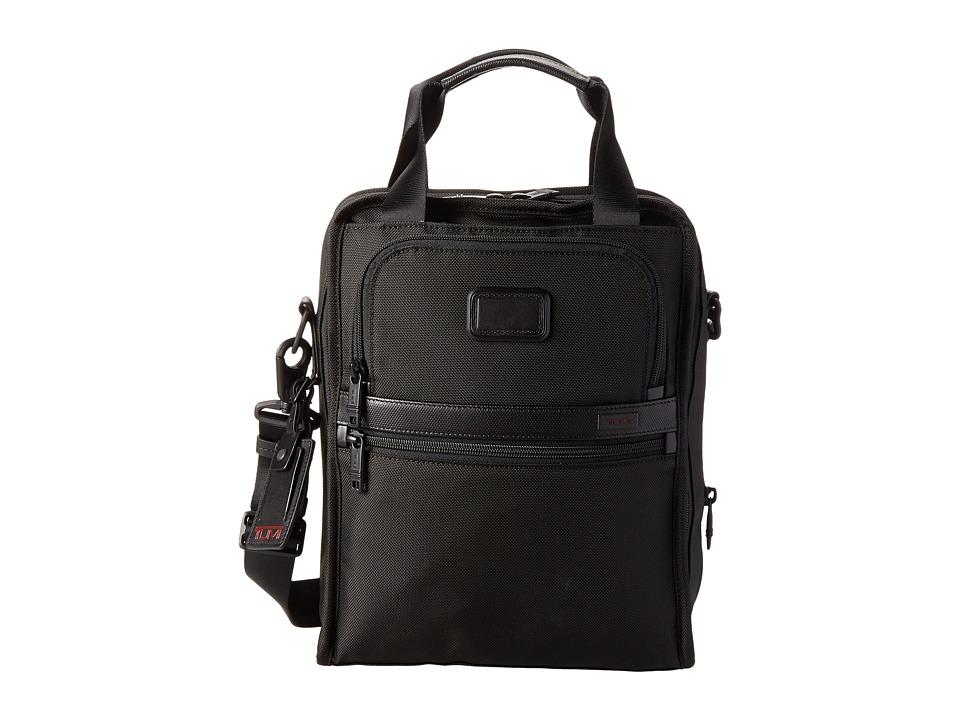 Tumi - Alpha 2 - Medium Travel Tote (Black) Tote Handbags