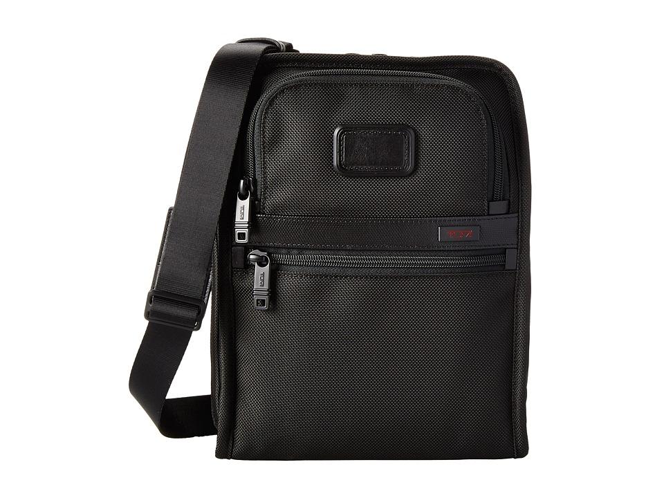 Tumi - Alpha 2 - Organizer Travel Tote (Black) Tote Handbags