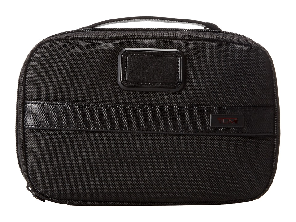 Tumi - Alpha 2 - Split Travel Kit (Black) Travel Pouch