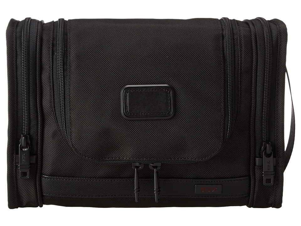 Tumi - Alpha 2 - Hanging Travel Kit (Black) Travel Pouch