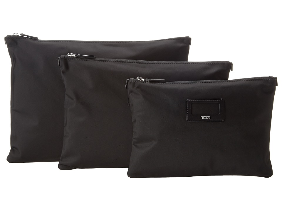 Tumi Journey 3 Pouch Set Black Travel Pouch