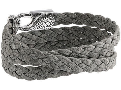Stephen Webster Rayman Multi Wrap Rayskin Leather - Grey