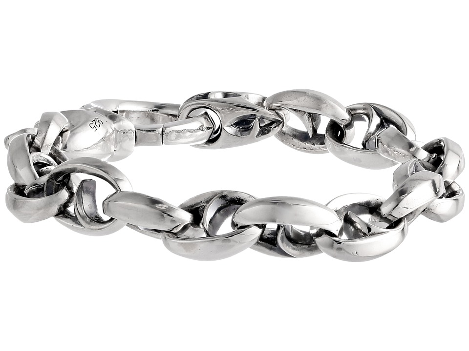Stephen Webster Thorn Medium Oval Link Bracelet Silver Bracelet