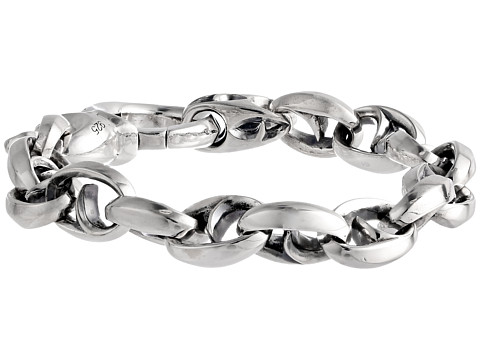 Stephen Webster Thorn Medium Oval Link Bracelet - Silver