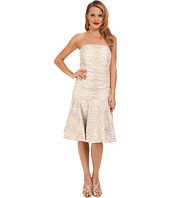 Badgley Mischka - Drop Waist Lace Cocktail